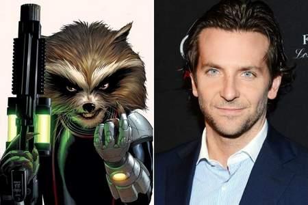 Bradley Cooper será Rocket Racoon.