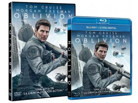"""Carátula DVD y Blu-ray """"Oblivion""""."""