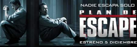 """Banner """"Plan de Escape""""."""