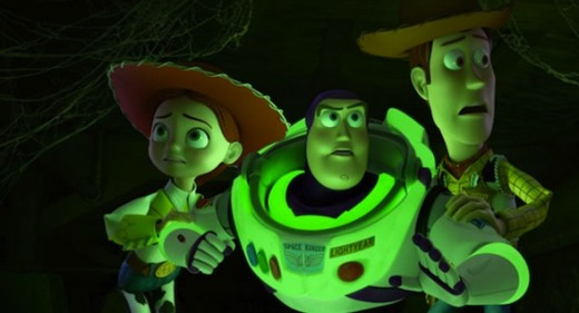 """""""Toy Story of Terror"""", trailer."""