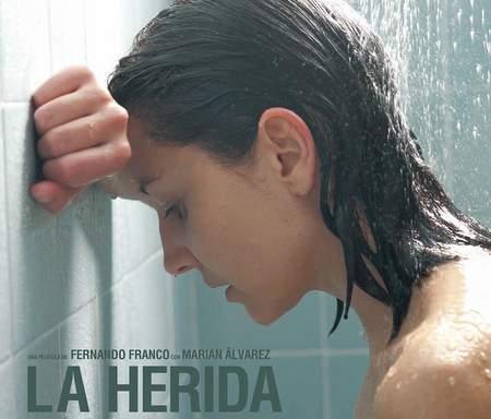 """Cartel de """"La Herida""""."""