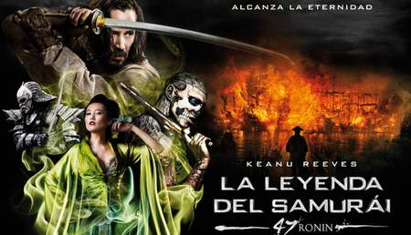 Cartel de La Leyenda del samurai: 47 ronin