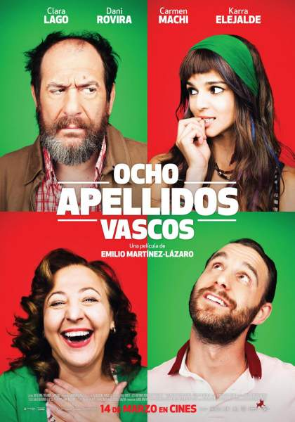 Rodaje secuela de ocho apellidos Vascos