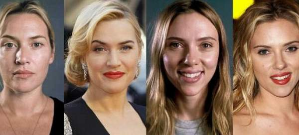 Scarlett Johansson y Kate Winslet al natural