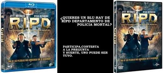 Concurso R.I.P.D. Departamento de Policía Mortal