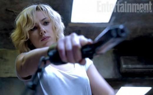 Primera imagen de Scarlett Johansson en Lucy
