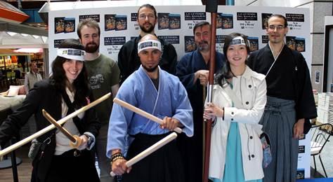 Exhibición artes marciales La leyenda del Samurái - 47 Ronin