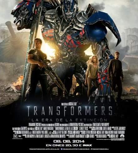 Póster de Transformers: La era de la extinción