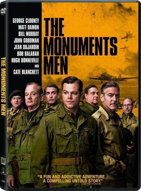 Carátula DVD de Monuments Men