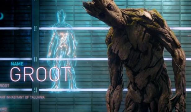 Guardianes de la Galaxia doblar a Groot