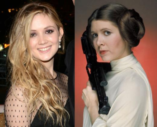 La hija de Carrie Fisher en Star Wars: Episodio VII