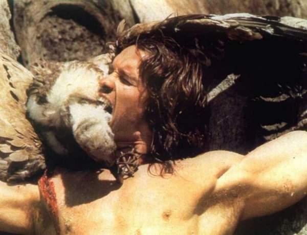 Arnold Schwarzenegger rodaje España La leyenda de Conan