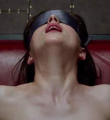 Dakota Johnson en 50 Sombras de Grey