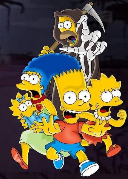 Muerte de personaje en Los Simpson