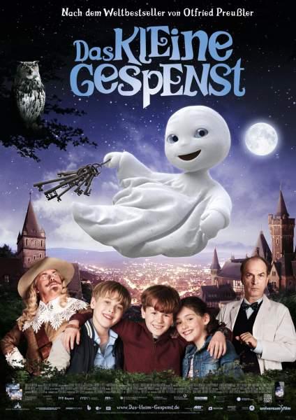 Póster de Las aventuras del pequeño fantasma