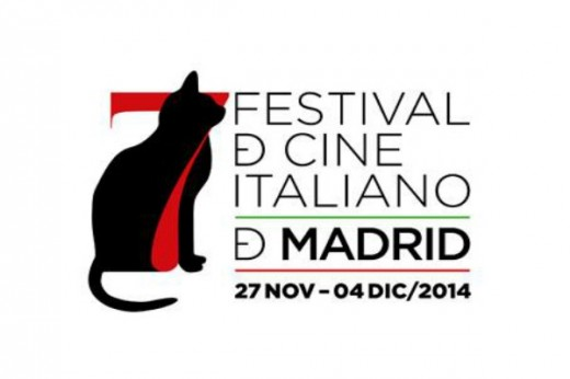 Cartel del Festival de cine italiano de Madrid