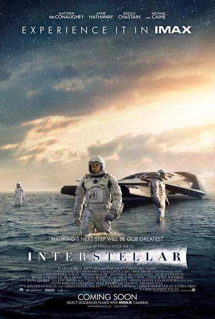 Póster de Interstellar