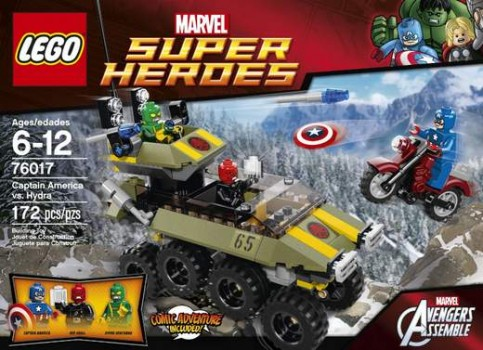 Concurso Lego Marvel Superhéroes