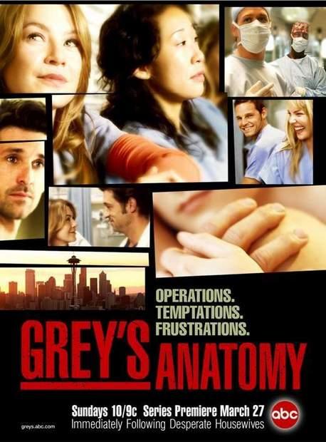 Póster de Anatomía de Grey