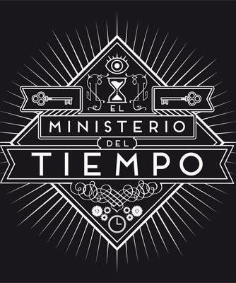 Cartel logo de El Ministerio del tiempo