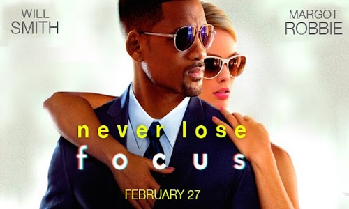 Will Smith y Margot Robbie en Focus