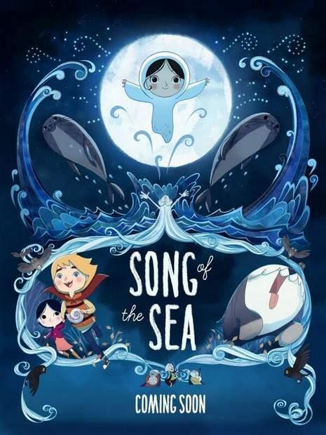 Póster de La Canción del mar