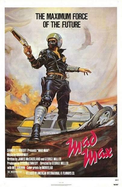 Póster de Mad Max, Salvajes de la autopista