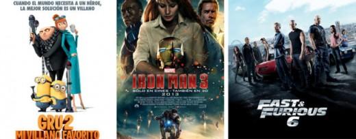 Lista de las películas más taquilleras de 2013