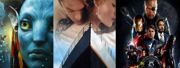 20 películas más taquilleras de la historia del cine