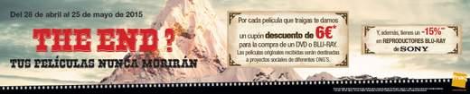 FNAC campaña recicla tu filmoteca