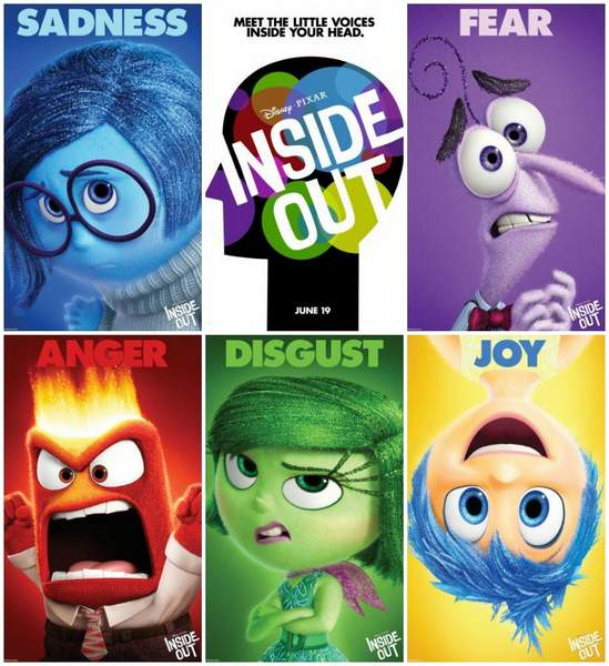 Cartel Inside Out de Pixar