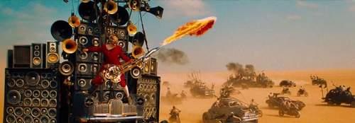 Imagen del Guitarrista lanzallamas de Mad Max: Furia en la carretera