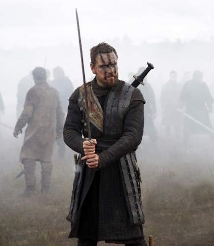 Michael Fassbender en Macbeth