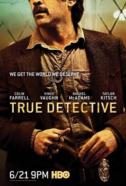 Póster de la segunda temporada de True Detective