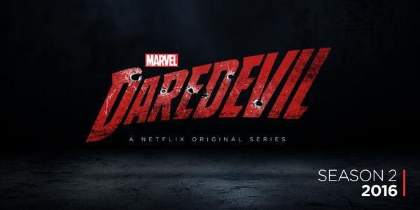Banner segunda temporada de la serie Daredevil