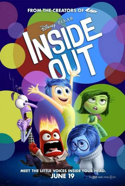 Póster de Del revés (Inside Out)