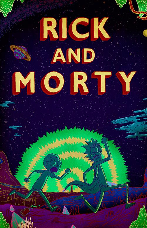 Póster de Rick y Morty