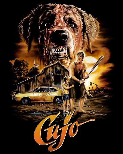 Remake de Cujo, póster del clásico de los 80