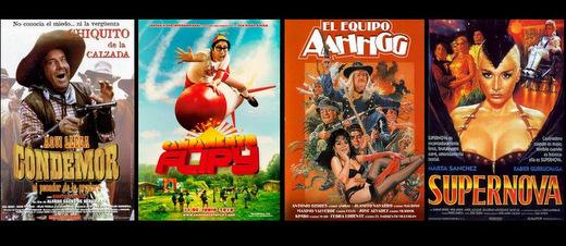 Peores Películas Españolas de todos los tiempos