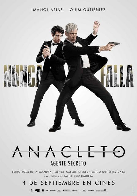 Póster de Anacleto: Agente Secreto