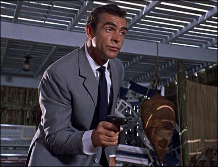 Sean Connery en James Bond