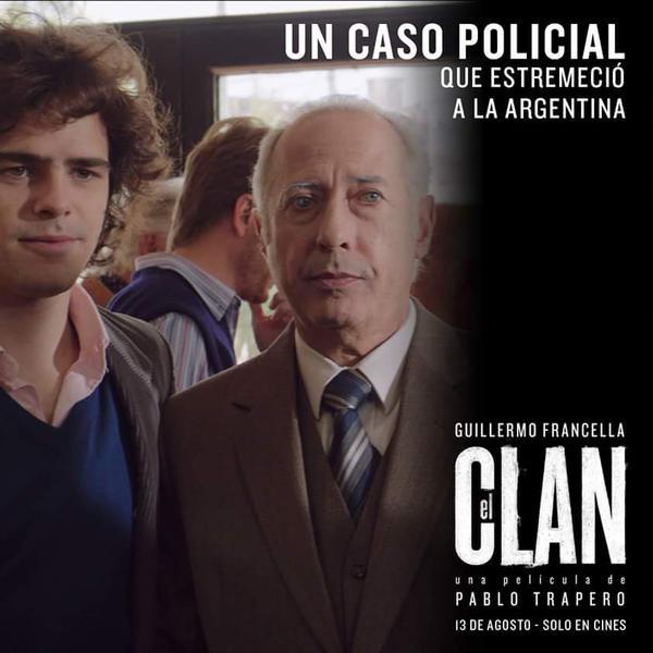 Cartel de El Clan de Pablo Trapero