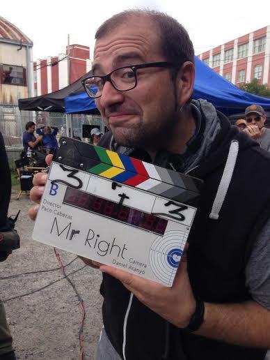Paco Cabezas rodaje de Mr. Right