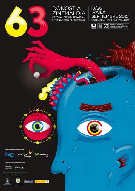 Cartel festival de cine de San Sebastián 2015