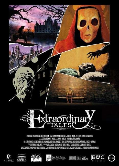 Póster de The Extraordinary Tales