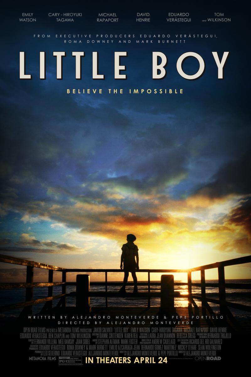 Póster de Little Boy