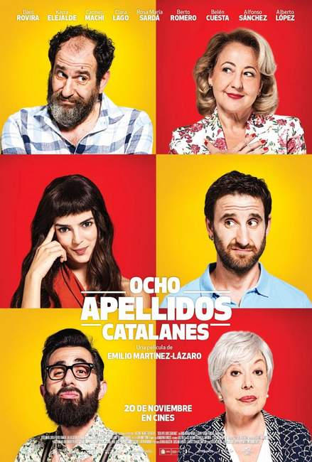 Póster de Ocho Apellidos Catalanes