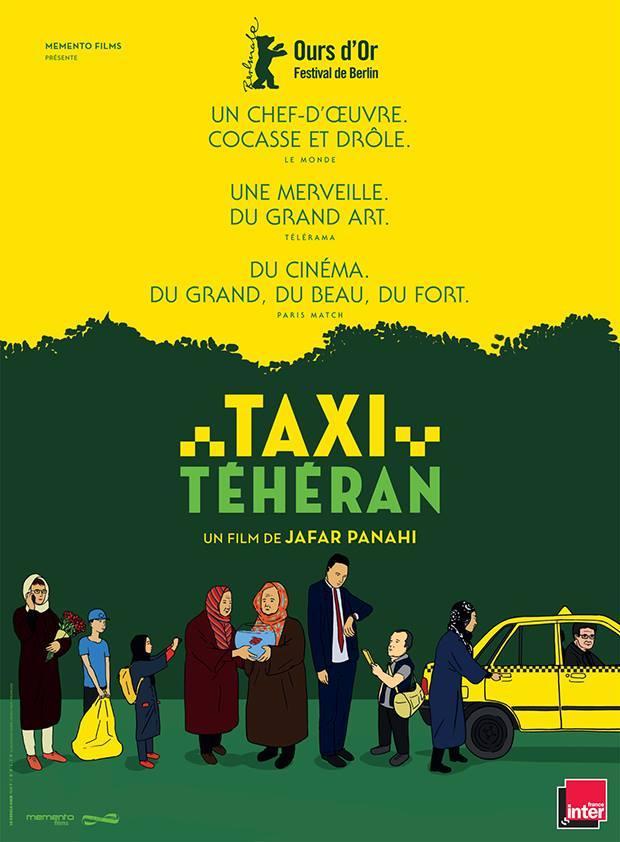 Póster de Taxi Teherán