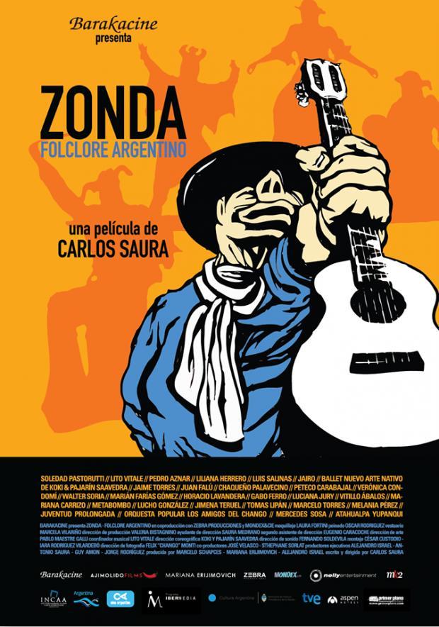 Póster de Zonda folclore argentino