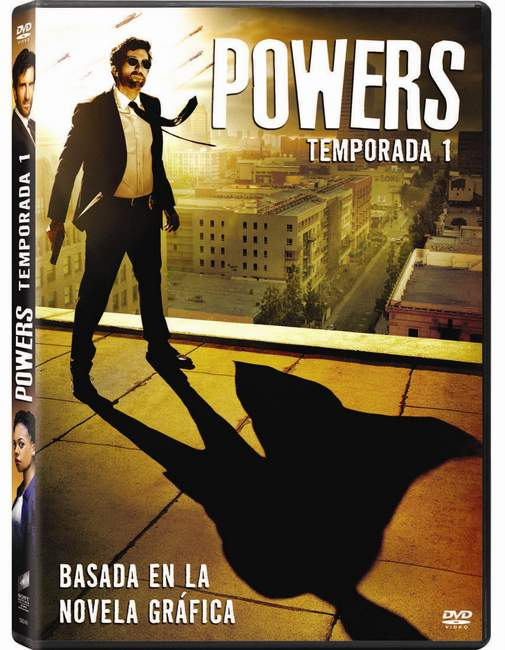 Powers estreno DVD Primera Temporada